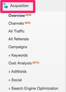 Acquisition_Google Analytics