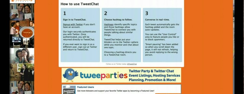 Getting Started with TweetChats: the Essentials