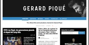 Gerard Pique Paper li