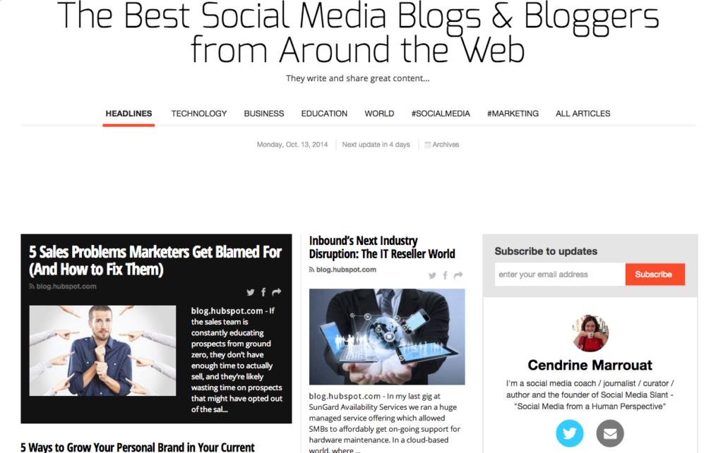 Paper.li bloggers paper