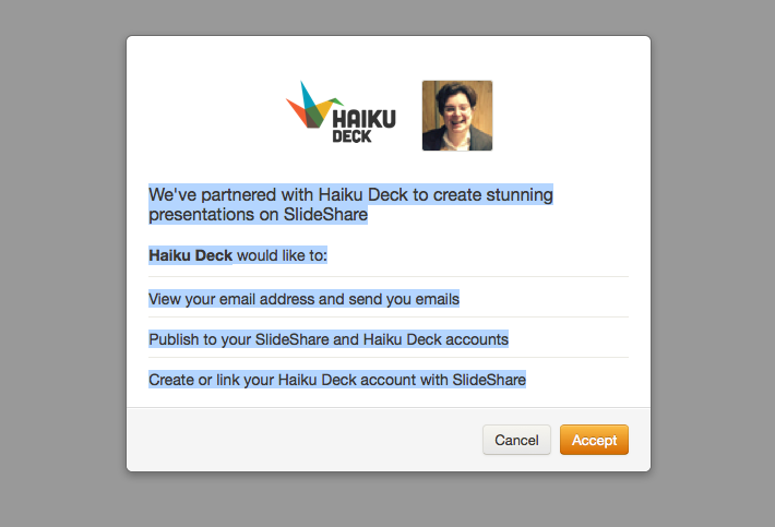 terms of use haiku deck