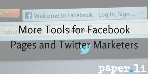 More tools for facebook pages