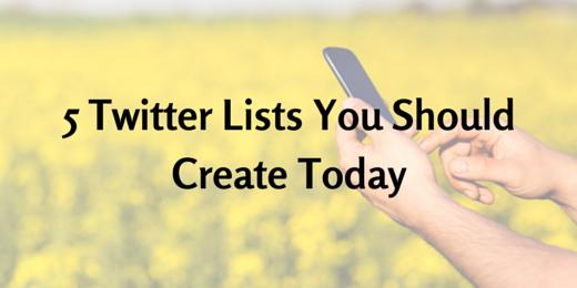 Twitter Lists